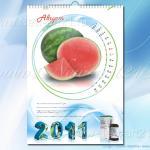 настенный календарь с необычной календарной сеткой 4